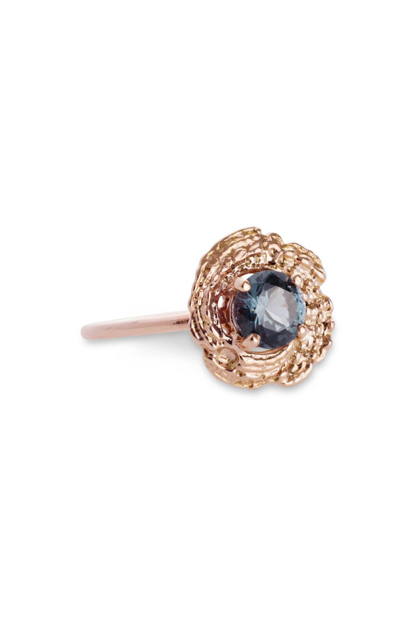 Bubble Shell Ring 14K Rose Gold