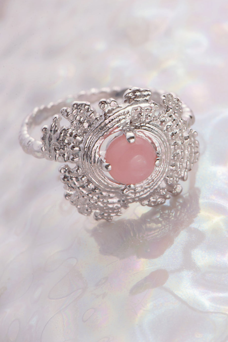 Bubble Shell Ring