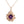 Barnacle Tide Pool Gem Pendant 14K Rose Gold