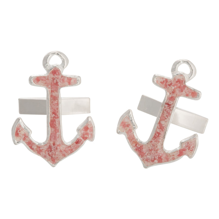 Splash Collection | Large Anchor Cufflinks