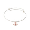 Splash Collection | Small Anchor Bangle