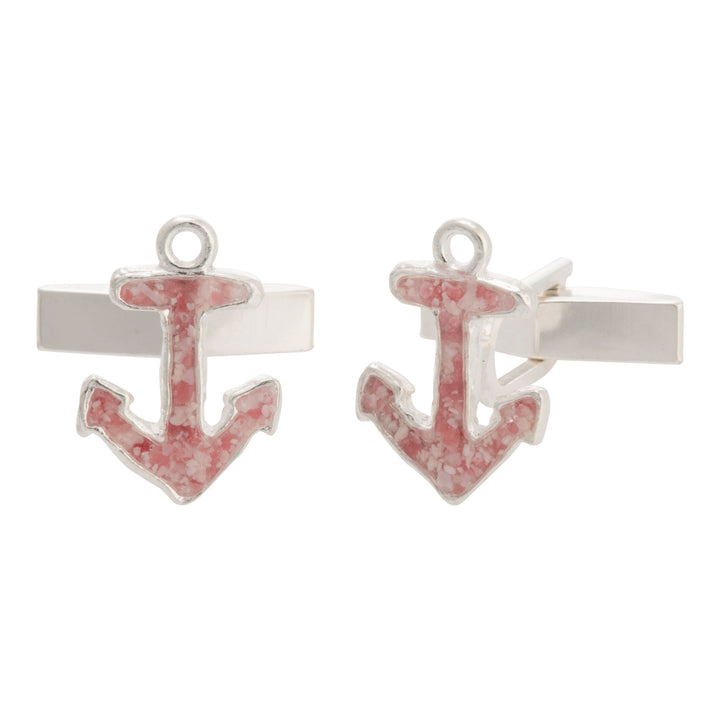 Splash Collection | Small Anchor Cufflinks