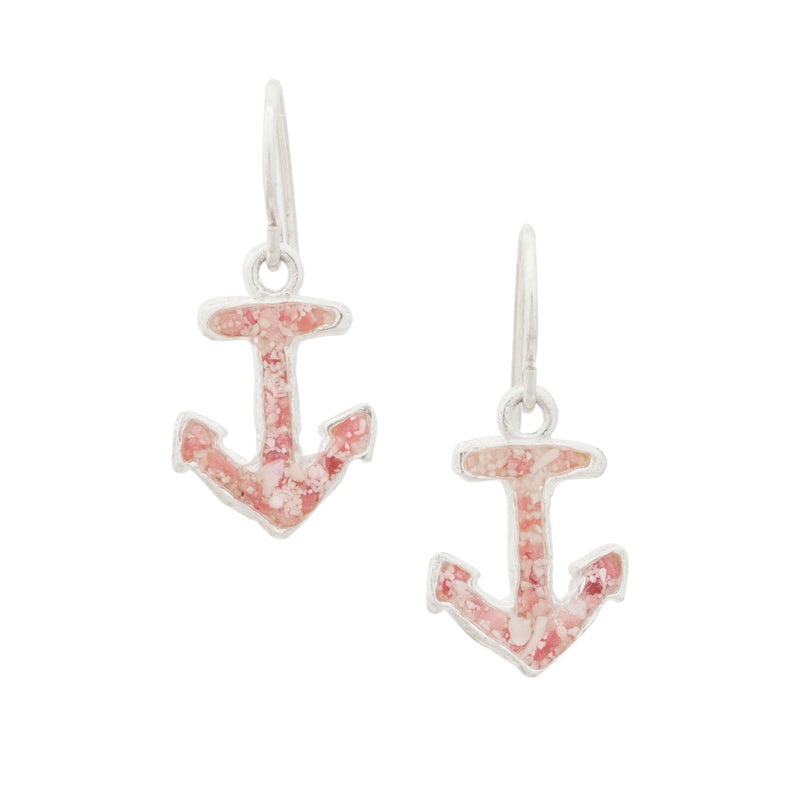 Nautical ~ Small Anchor Dangle Earrings | ARCHIVED - Alexandra Mosher Studio Jewellery Bermuda Fine