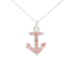 Nautical ~ Anchor (Small) Pendant - Alexandra Mosher Studio Jewellery Bermuda Fine
