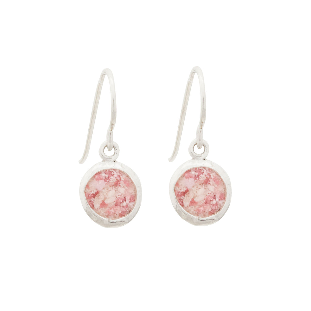 Splash Collection | Medium Circle Dangle Earrings