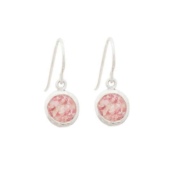 Splash ~ Medium Circle Dangle Earrings - ARCHIVED - Alexandra Mosher Studio Jewellery Bermuda Fine