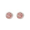 Splash Collection | Medium Circle Stud Earrings