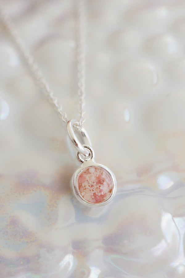 Splash ~ Small Circle Pendant - Alexandra Mosher Studio Jewellery Bermuda Fine