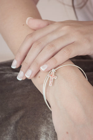 Splash Collection | Cross Bangle