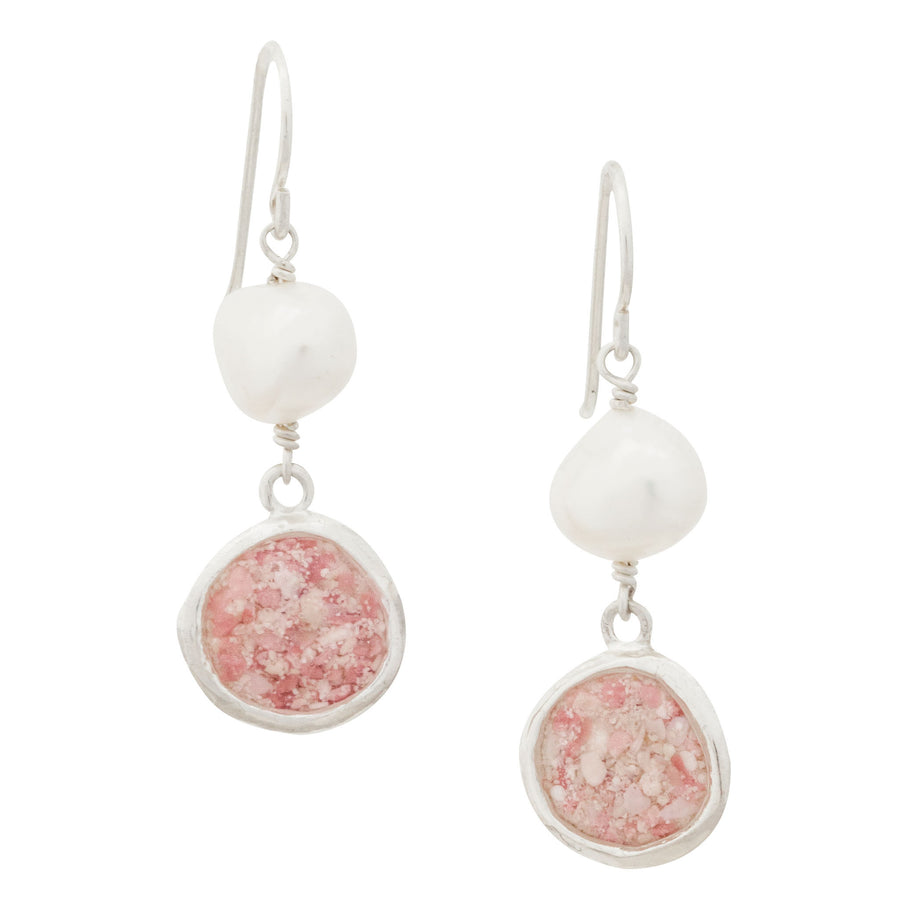 Splash Pearl Collection | Large Diana Earrings