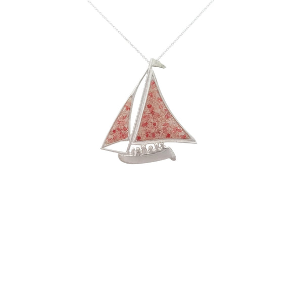 Nautical ~ Bermuda Fitted Dinghy (Large) Pendant - Alexandra Mosher Studio Jewellery Bermuda Fine