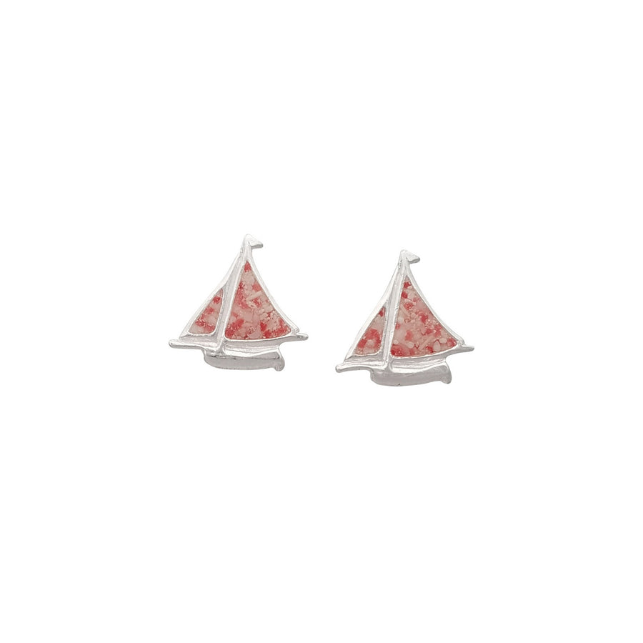 Splash Collection | Small Bermuda Fitted Dinghy Stud Earrings