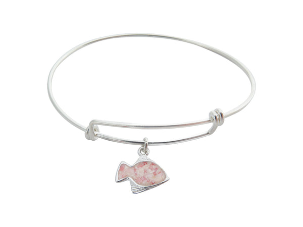 Friends ~ Angelfish Bangle - Alexandra Mosher Studio Jewellery Bermuda Fine