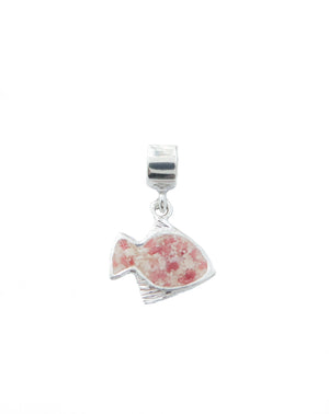 Splash Small Angelfish Charm