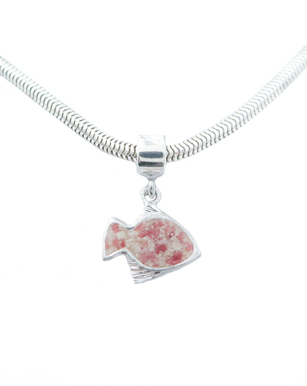 Friends ~ Angelfish Charm - Alexandra Mosher Studio Jewellery Bermuda Fine