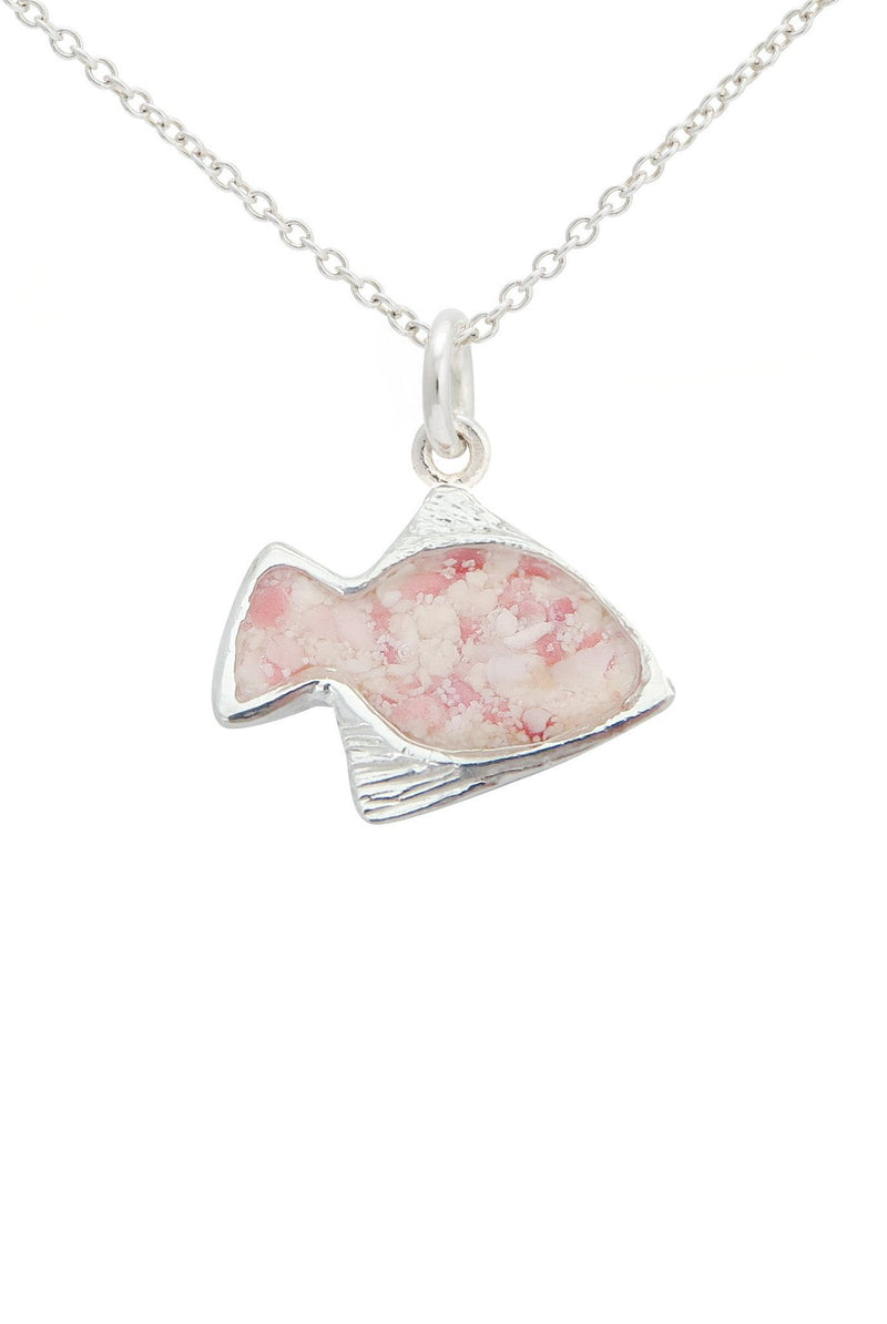 Friends ~ Angelfish Pendant - Alexandra Mosher Studio Jewellery Bermuda Fine