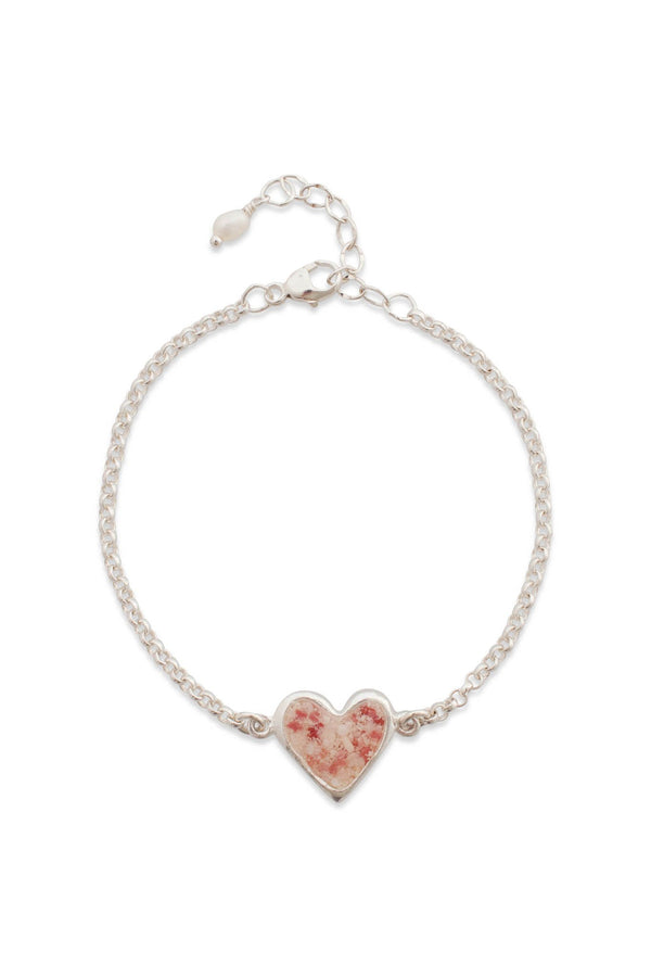 Splash ~ Juliet Heart Inline Bracelet