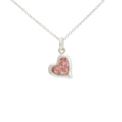 Splash ~ Heart (Large) Pendant - Alexandra Mosher Studio Jewellery Bermuda Fine