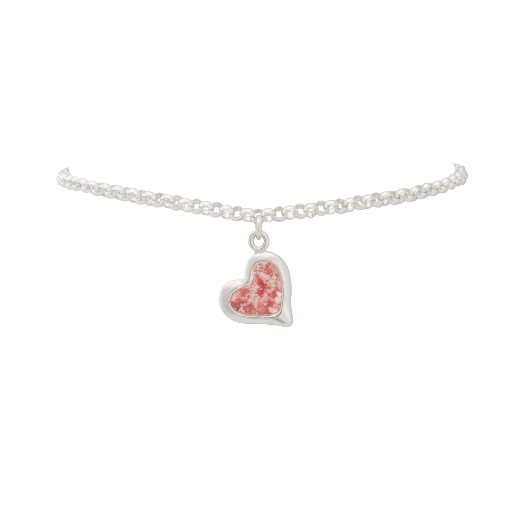 Splash Collection - Petites | Large Heart Rolo Bracelet