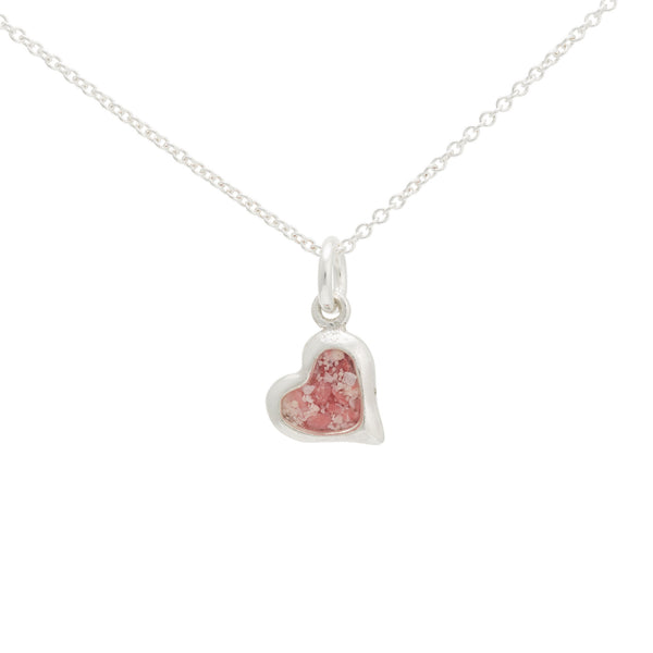 Splash ~ Heart (Small) Pendant - Alexandra Mosher Studio Jewellery Bermuda Fine