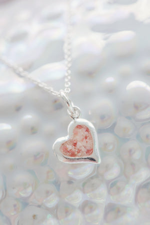 Splash Collection - Small Heart Pendant