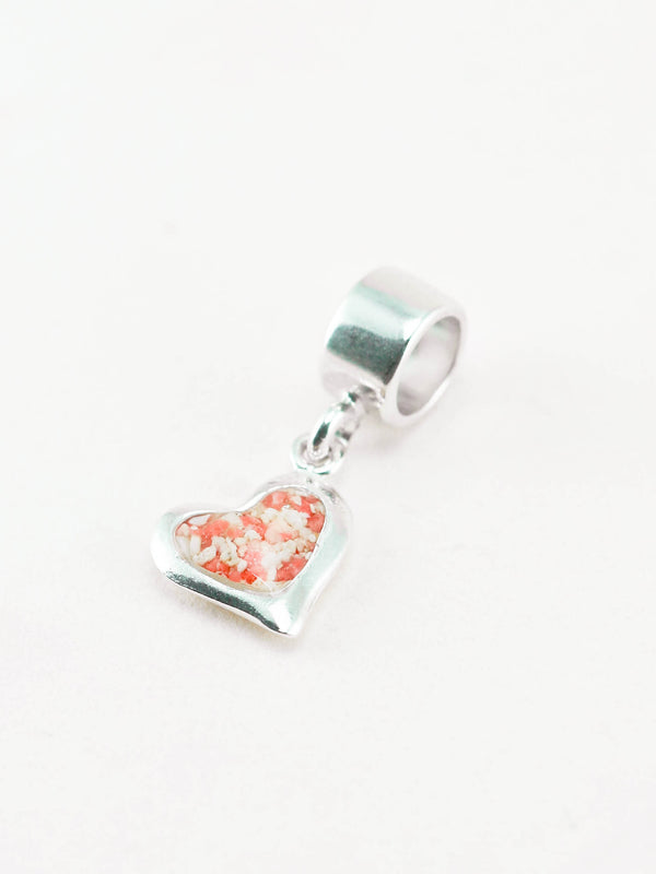 Splash ~ Heart (Large) Charm - Alexandra Mosher Studio Jewellery Bermuda Fine