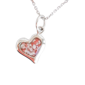Splash Collection - Large Heart 14K Gold Pendant