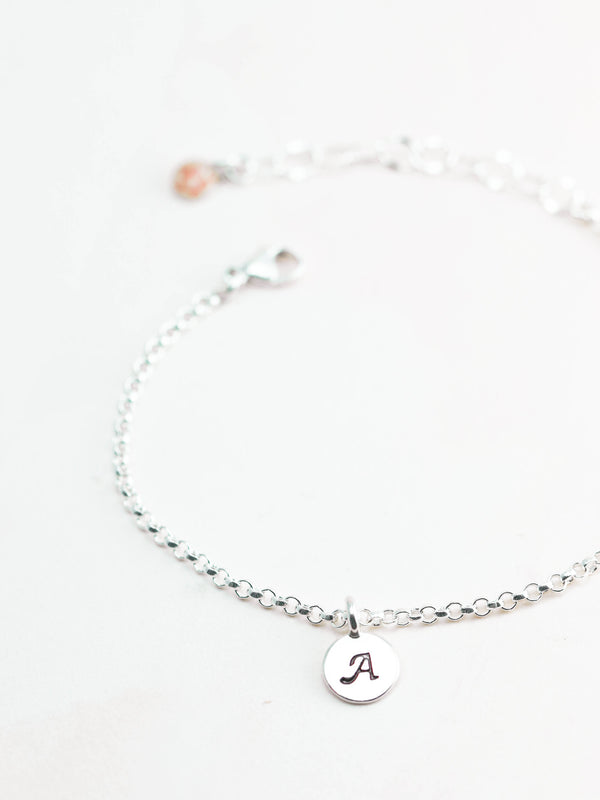 Monogram Charm - Customizable - Alexandra Mosher Studio Jewellery Bermuda Fine
