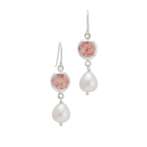 Splash Pearl Collection | Isabella Medium Earrings