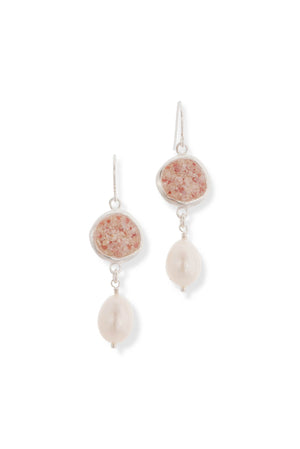 Splash Pearl Collection | Isabella Large Earrings