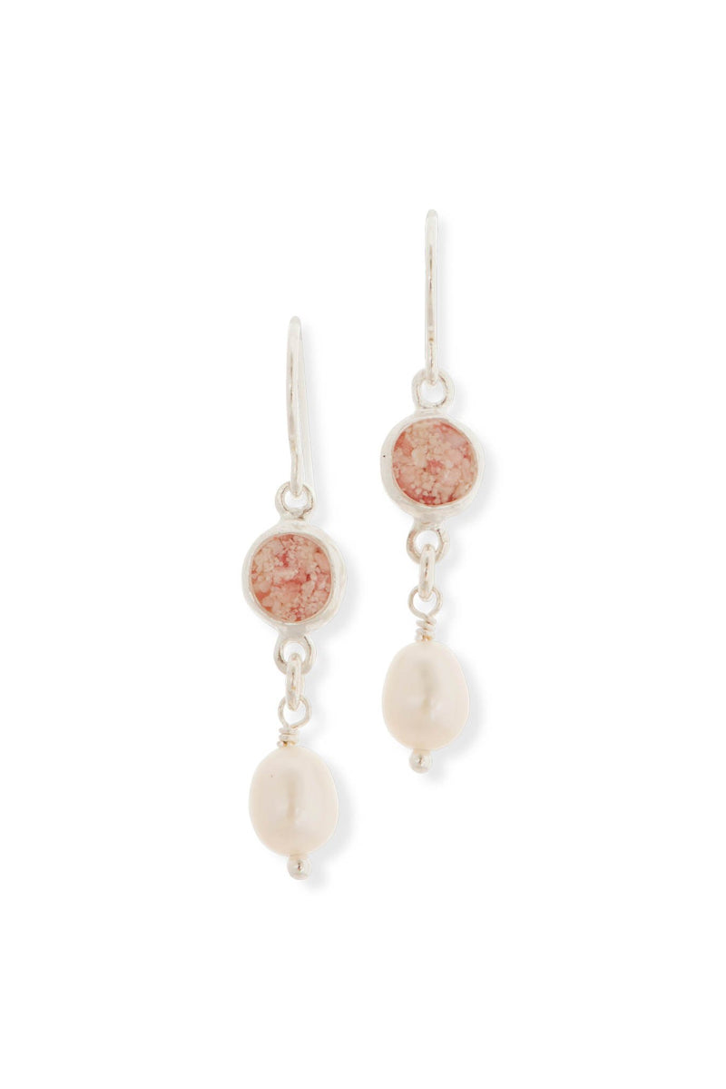 Princess ~ Isabella Small Earrings - Alexandra Mosher Studio Jewellery Bermuda Fine