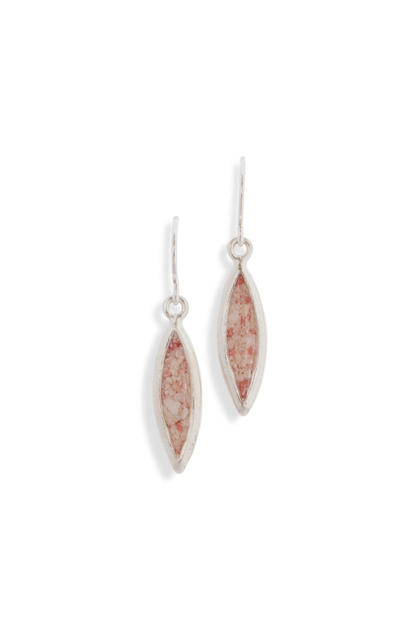 Splash ~ Marquise Splash Earrings - Alexandra Mosher Studio Jewellery Bermuda Fine