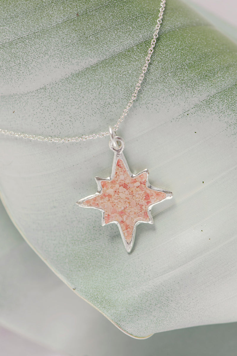 Icons ~ North Star (Large) Pendant - Alexandra Mosher Studio Jewellery Bermuda Fine