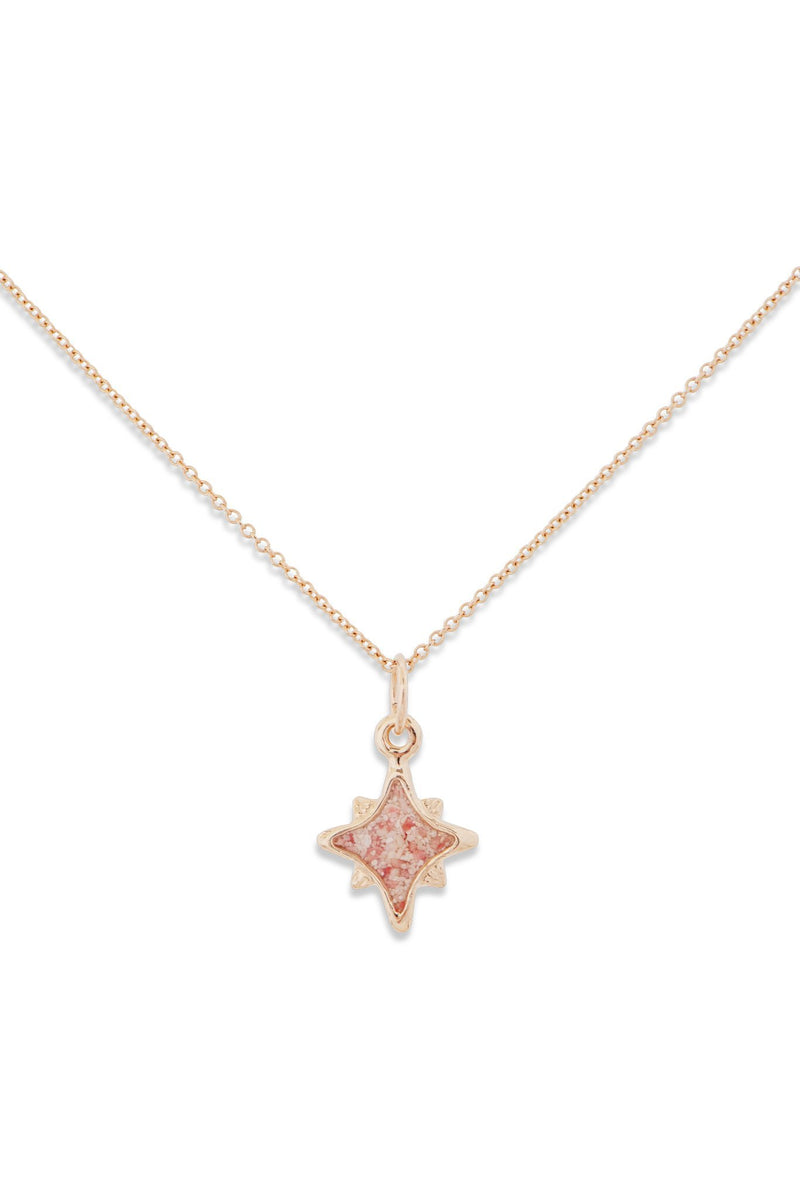 Icons ~ North Star (Small) Pendant in Gold - Alexandra Mosher Studio Jewellery Bermuda Fine