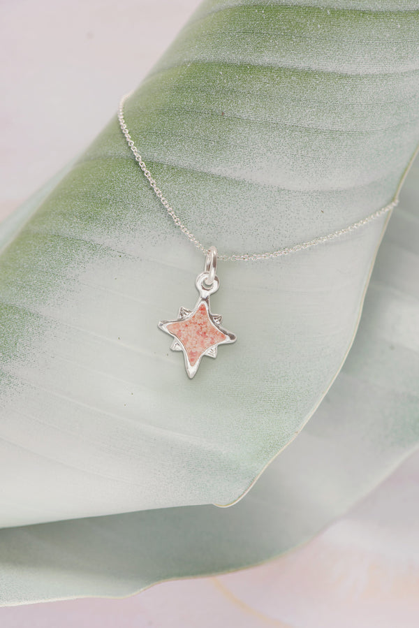 Icons ~ Small North Star Pendant - Alexandra Mosher Studio Jewellery Bermuda Fine