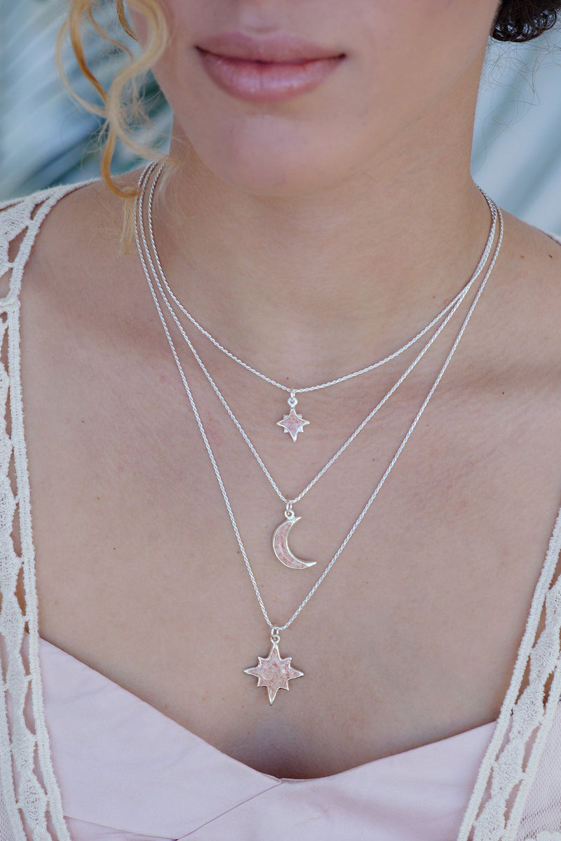 Icons ~ Large North Star Pendant - Alexandra Mosher Studio Jewellery Bermuda Fine
