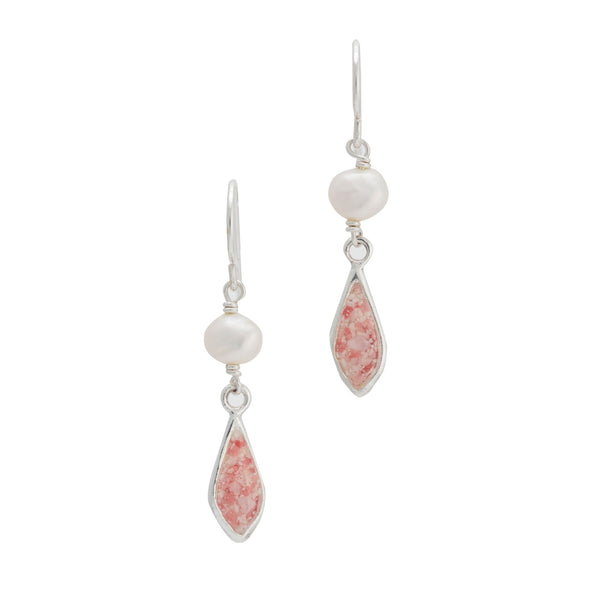 Princess ~ Sophia Small Earrings - Alexandra Mosher Studio Jewellery Bermuda Fine