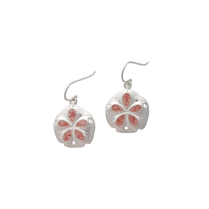 Splash Collection | Medium Sand Dollar Dangle Earrings