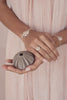 Splash Collection | Small Sand Dollar Braided Band Ring