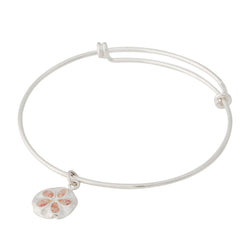 Friends ~ Small Sand Dollar Bangle