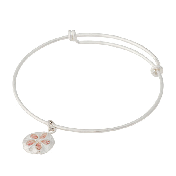 Friends ~ Sand Dollar (Small) Bangle - Alexandra Mosher Studio Jewellery Bermuda Fine