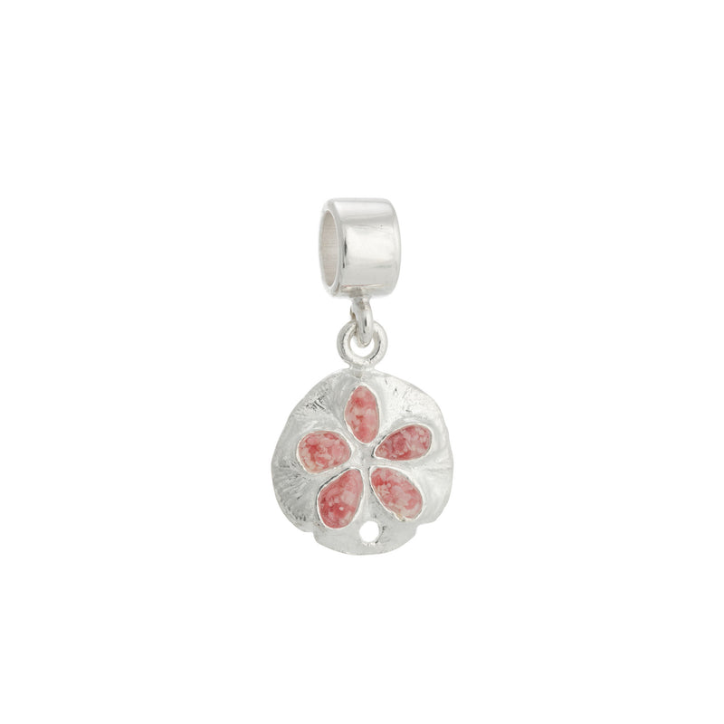Friends ~ Sand Dollar (Small) Charm - Alexandra Mosher Studio Jewellery Bermuda Fine