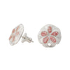 Splash Collection | Small Sand Dollar Stud Earrings