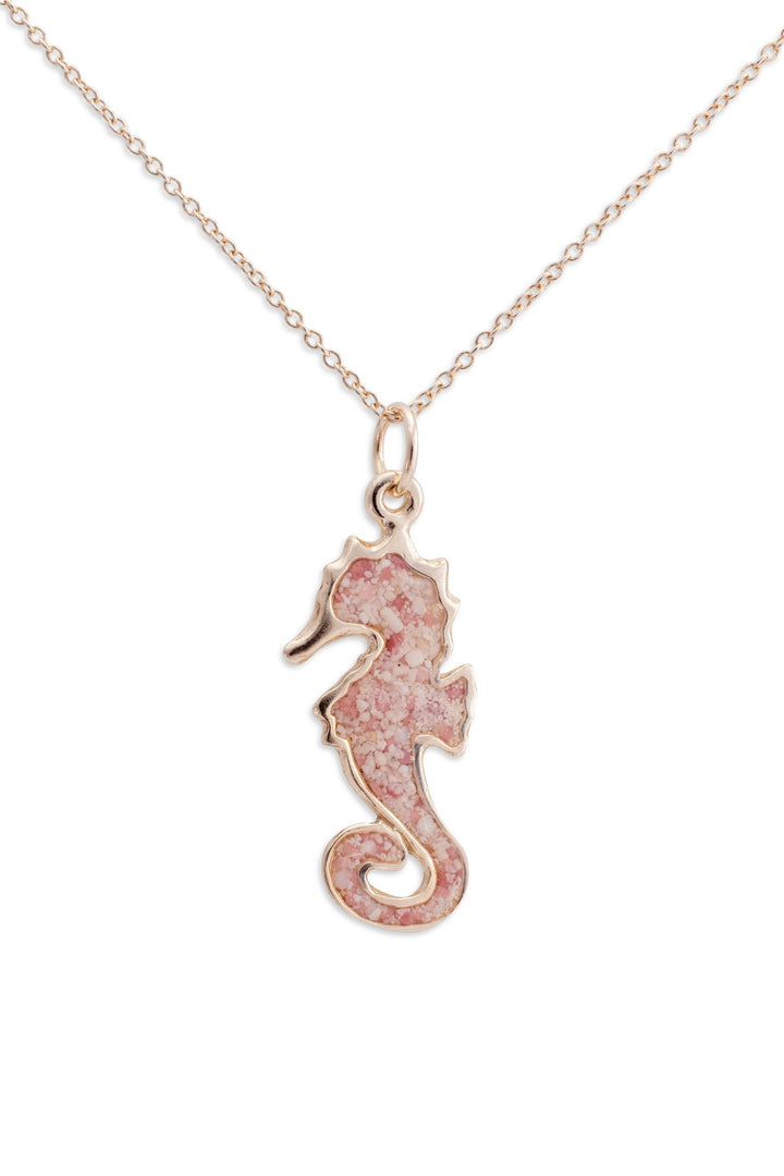 Splash Collection | Splash Small Seahorse 14K Gold Pendant