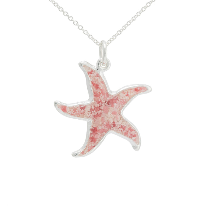 Splash Collection | Large Starfish Pendant