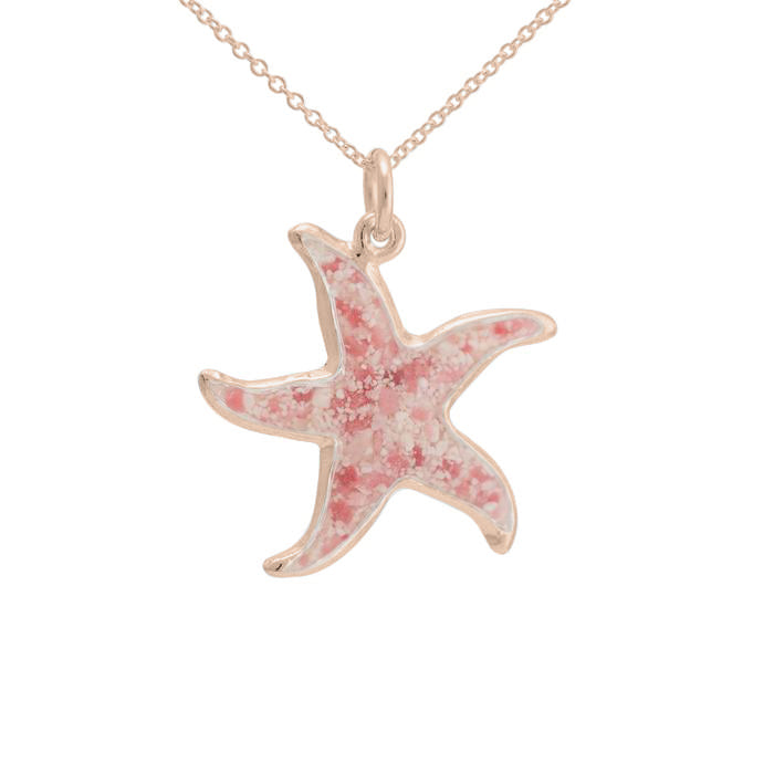 Friends ~ Starfish (Large) Pendant in Gold
