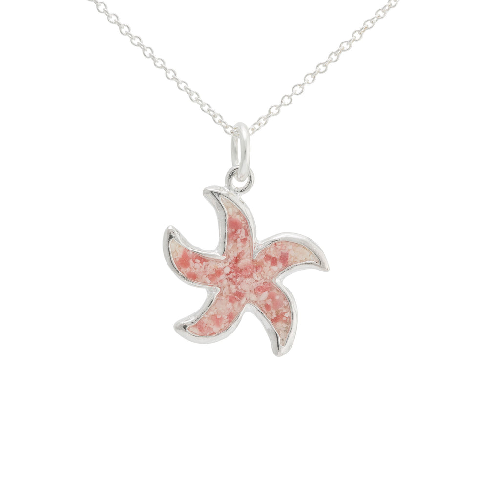 Splash Collection | Medium Starfish Pendant