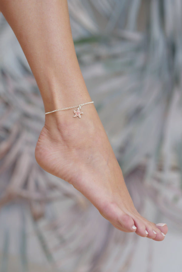Friends ~ Starfish Anklet