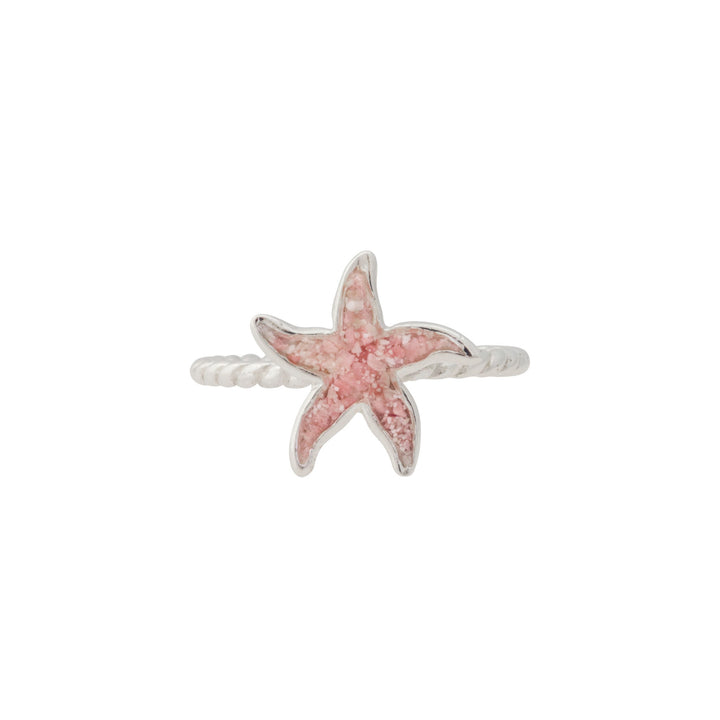 Splash Collection - Petites | Small Starfish Braided Band Ring