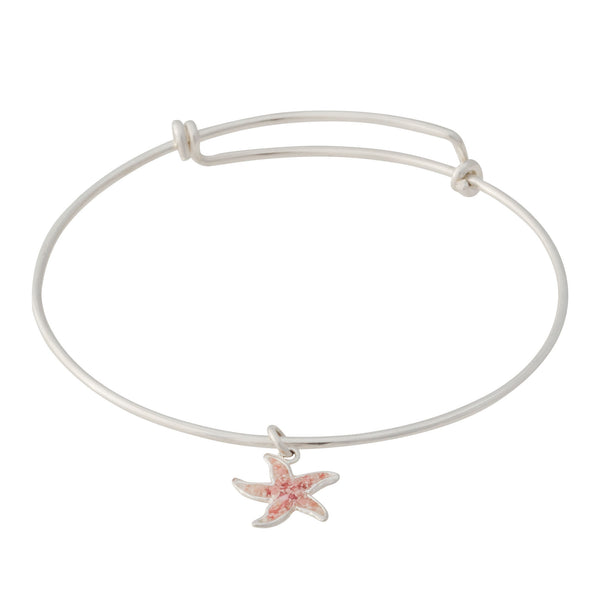 Friends ~ Starfish (Small) Bangle - Alexandra Mosher Studio Jewellery Bermuda Fine